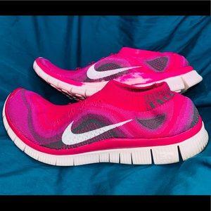 Nike Flyknit Free 5.0 Fireberry Run 615806-610